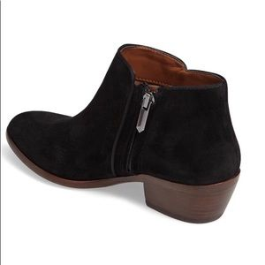 Sam Edelman Petty Chelsea Boot  Black suede 12